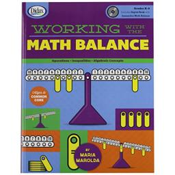 Didax Educational Resources Working with Math Balance Book