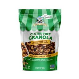 Bakery on Main Gluten Free Non GMO Granola, Walnut Raisin Apple, 11 Ounce