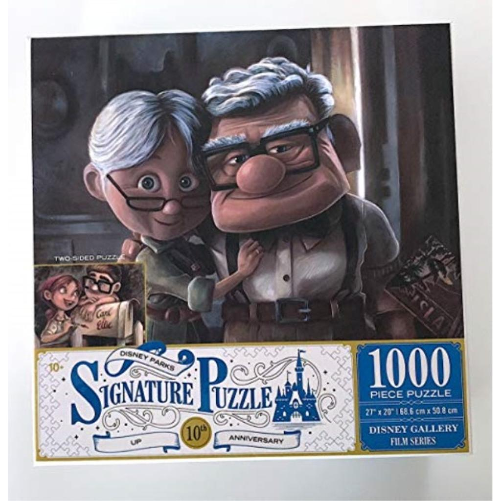 DisneyParks Up! Carl Ellie 10th Anniversary Two Side 1000 Piece Puzzle New