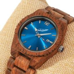 Men's Personalized Engrave Kosso Wood Watches - Free Custom