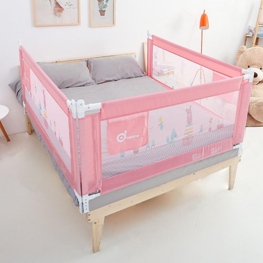 Odoland HK Extra Long Swing Down Bed Rails