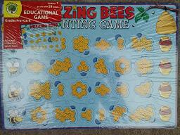 Teaching Tree Buzzing Bees counting Educational game (grades Pre-K & K)