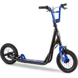"""Mongoose 12"""" Expo Scooter It features neon green accents Actual Color: Blue"""