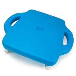 """16"""" Blue Gym Class Scooter Board with Safety Handles by K-Roo Sports"""
