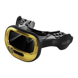 Shock Doctor 3700 Mutant Mouth Guard, Chrome Gold, One Size
