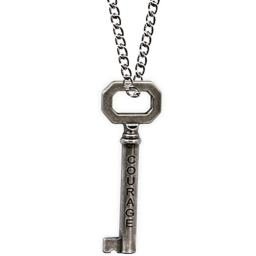AngelStar 13831 Courage/Strength Key of Wisdom Pendant, 2-1/2-Inch