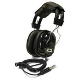 Bounty Hunter Metal Detector Binaural Headphone Wired Connectivity Stereo Over-the-head