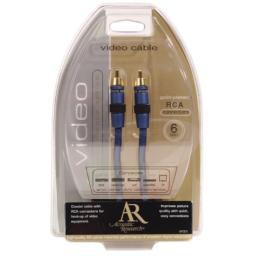 Acoustic Research 6 foot Video RCA Cable AP001 (Discontinued by Manufacturer)