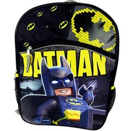 LEGO Batman and Robin Backpack with Front Pocket
