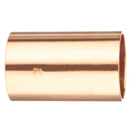 Elkhart Products 101 1-Inch Copper Couplings without Stops .For air conditioners and refrigeration.Made of Copper.Size: 1 inch.Copper to Copper fitting.