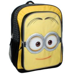 Despicable Me Minions Movie 16 inch Backpack - Mellow Yellow