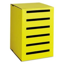 Pacon PAC001336 Classroom Keepers Homework Collector - Yellow
