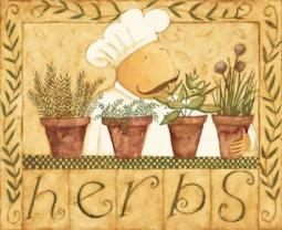 Kitchen Herbs Poster Print by Dan DiPaolo PDXDDPRC061LARGE