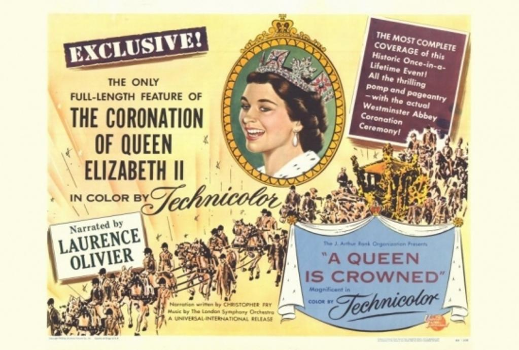 A Queen Is Crowned Movie Poster Print (27 x 40)