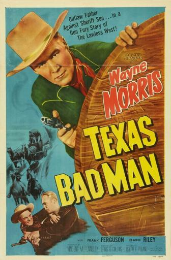 Texas Bad Man Movie Poster (11 x 17)