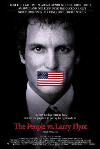 The People vs. Larry Flynt Movie Poster Print (27 x 40) DOFNWMJSQZJP5WJS