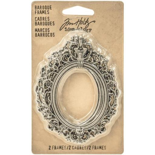 Advantus TH93267 Idea-Ology Baroque Frames, Antique Nickel