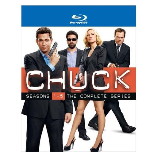 Chuck-complete series collector set (blu-ray/17 disc/ws-16x9/5pk) F1S7EPR4R50YON6D
