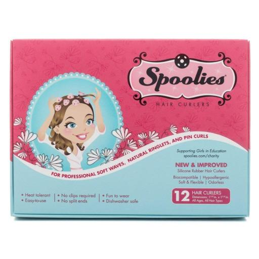 Spoolies Hair Curlers - 12 Count 9ZHPQABZCEHNGQPK