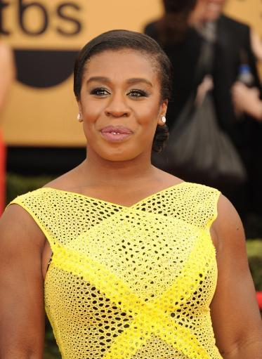 Uzo Aduba At Arrivals For 21St Annual Screen Actors Guild Awards - Arrivals 1, The Shrine Exposition Center, Los Angeles, Ca January 25, 2015.