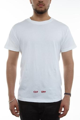 Off-white Silver Off T-shirt S/s Mens Style: Omaa002f161850520188