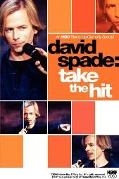 David Spade Take the Hit (1998) Stand Up Comedy DVD NEW