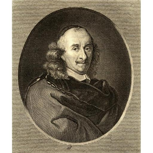 Posterazzi DPI1858305LARGE Peter Corneille 1606-1684 French Playwright. Photo-Etching After The Painting Poster Print, Large - 28 x 32