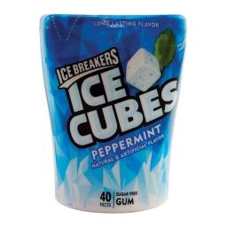 Ice Breakers 9792698 Peppermint Chewing Gum, 40 per Case - Pack of 6