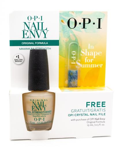 OPI OPI Nail Envy Original Formula Nail Strengthener and Free ...
