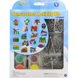 Suncatcher Group Activity Kit-Religious 18/Pkg SGP-00207