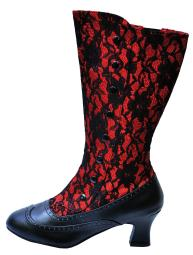 Boot Spooky Red Size 8 HA153RD8