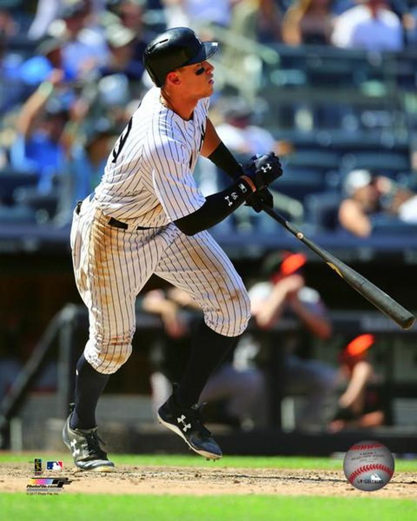 Aaron Judge 495' Home Run- June 11, 2017 Photo Print