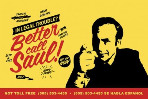 Better Call Saul Legal Trouble Poster Poster Print