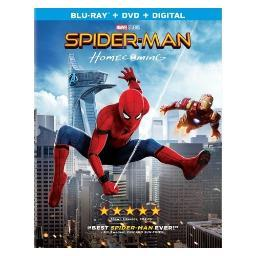 Spiderman-homecoming combo pack (blu ray/dvd w/ultraviolet) BR48857