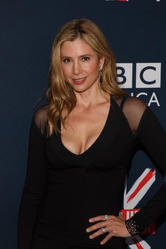 Mira Sorvino At Arrivals For Bbc America'S Doctor Who Premiere Fan Screening Event, Ziegfeld Theatre, New York, Ny August 14, 2014. Photo By Jason.