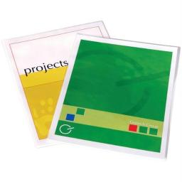 FELLOWES 5204002 5MM LETTER-SIZE LAMINATING POUCHES 50 PK