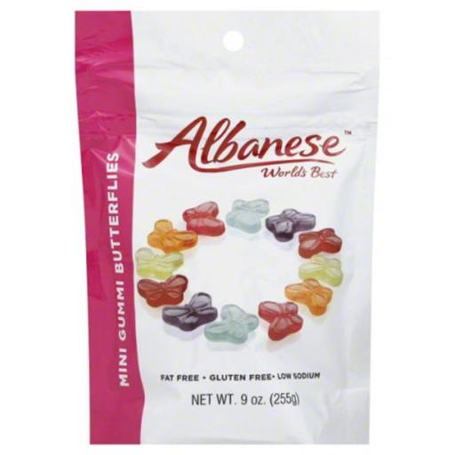 ALBANESE BUTTERFLY MINI-9 OZ -Pack of 6 PHKGRORMBIZQIRDL