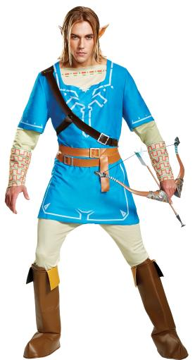 Link Breath Of The Wild Adult Deluxe Costume