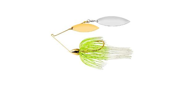 War eagle spinner baits we gold dbl wil spinnerbait wht cht we12gw02