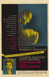 Witness to Murder Movie Poster (11 x 17) MOVEE3197