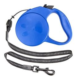 BrybellyHoldings ALSH-004 10-foot XS Retractable Dog Leash - Blue
