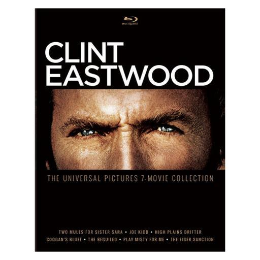 Clint eastwood-universal pictures 7-movie collection (blu ray) (4discs) D6HEYOCTAZELC7SZ