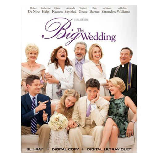 Big wedding (blu ray) 1289047