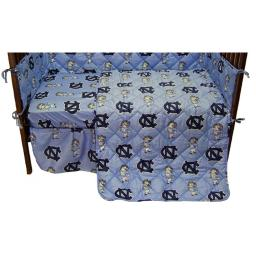 College Covers NCUCSFSPR North Carolina Tar Heels Baby Crib Fitted Sheet Pair