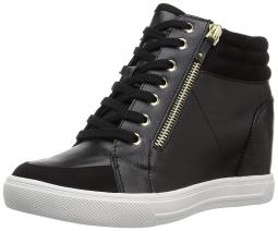 Aldo Kaia Hidden Wedge Fashion Sneakers, Black