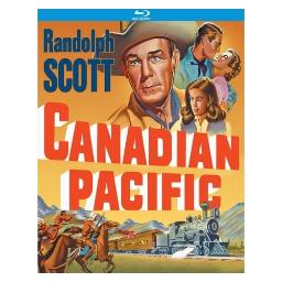 Canadian pacific (blu-ray/1949/ff 1.37) BRK15502