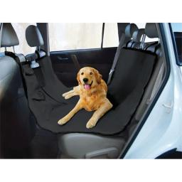 Yes Pets 59-90309BLK Oxford Waterproof, Tear Proof Hammock Style Car Seat Cover - 100 Percent Polyester, Black