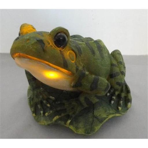 Yinarts SYA-0200 Solar Powered Frog With Motion Detector And Frog Sound