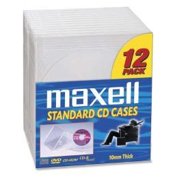 Maxell 190069 maxell cd jewel cases
