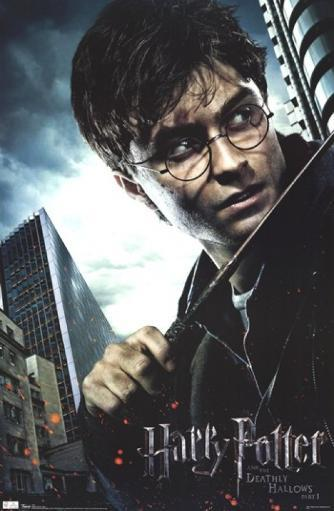 Harry Potter and the Deathly Hallows - Harry Poster Print OES80AGDWZOEI45U